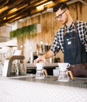 All about coffee and baristas